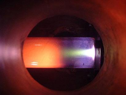 Emissie vermindering vindt plaats in het plasma