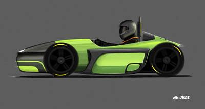 Eerste studentenracewagen op waterstof