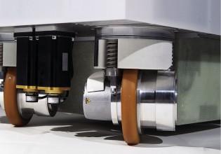 wielmodule voor servicerobot