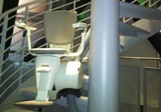 Hoogste traplift ter wereld
