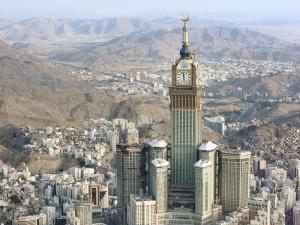 Traplift in Mecca Clock Tower