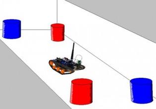 Robot met hersenen als insect