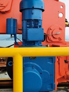 motorreductoren voor overslaghaven