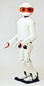 robot met 3D print onderdelen