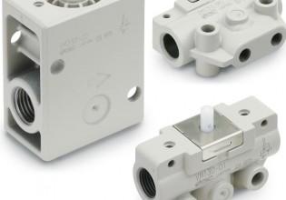 SMC Pneumatics nieuwe VM 100/200-serie mechanisch bediende ventielen