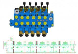 Amca online configurator voor hydraulische stuurschuiven