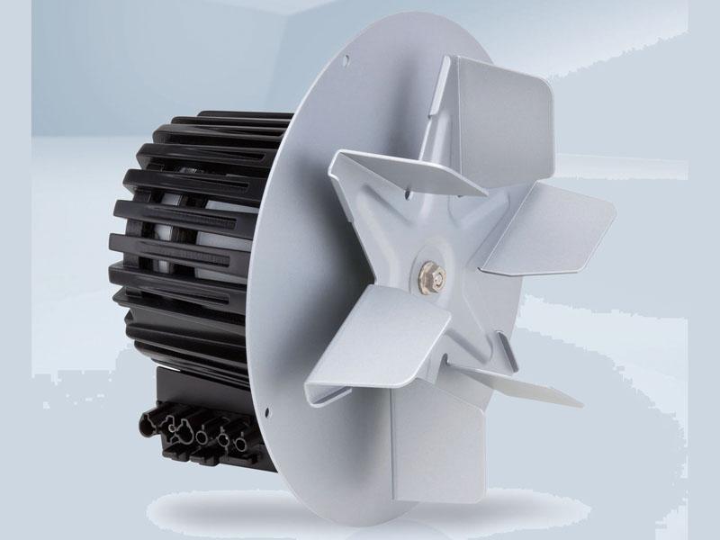 Populair Hetelucht ventilator • AT-Aandrijftechniek WL42