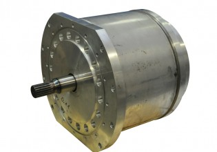 Elsto watergekoelde AC motor