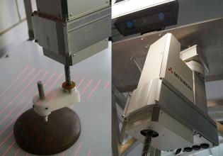 robot voor decoratie op taart