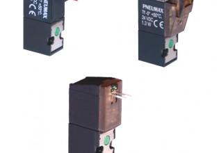 De extra smalle Pneumax magneetventielen onderscheiden zich door een combinatie van grote doorstroming en minimaal stroomverbruik