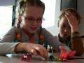 kinderen met elektronica bij Sioux