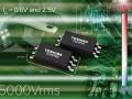 De IC output couplers in SO6L verpakking hebben een afmeting van slechts 10 x 3,8 x 2,1 mm.