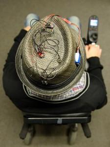 hoofdbewegingen bewegen rolstoel
