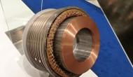 CEDS Duradrive bouwt klantspecifieke motoren zoals deze watergekoelde torquemotor die in een machineframe van de klant past