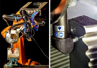 Robotsysteem IPA afwerking turbineassen