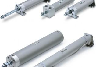 SMC Pneumatics CG1-Z compacte ronde cilinder