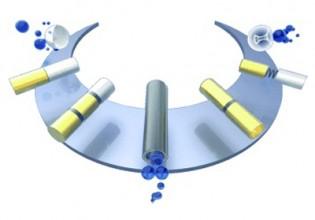 Katalysch aangedreven micro- en nanomotoren