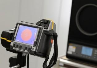 kalibratie warmtebeeldcamera bij KWx