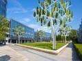 De Windboom van NewWind beschikt over 72 kunstmatige bladeren