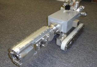 Het prototype van een voertuig om eenvoudiger inspecties uit te voeren aan windturbines werd op de Hannover Messe van dit jaar gepresenteerd