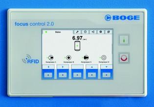 Compressorbesturing van Boge