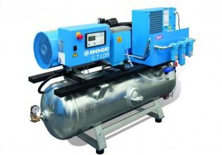 Compressorstation voor verfindustrie van Boge