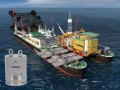 280 ton cilinders voor Pioneering Spirit