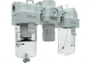 Modulaire luchtverzorgingsunit van SMC Pneumatics