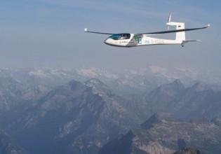 Elektrisch vliegen over de Alpen