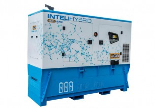 Inteli-Hybrid hybride stroomaggregaat van JCB