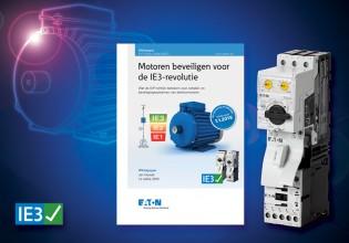Eaton publiceert 'Motor beveiligen voor de IE3-revolutie'