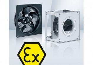 ATEX EC-ventilator van ebm-papst