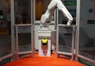 Veiligheidssysteem voor robots van Mitsubishi Electric