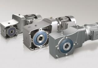 Nord kegelreductoren voor koppels van 50 Nm tot 660 Nm