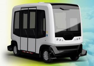 Zelfrijdende voertuig WEpod