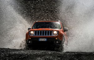 Jeep Renegade in actie (foto: Jeep)