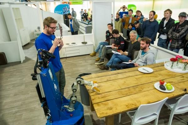 Robocup 2016 zorgrobots