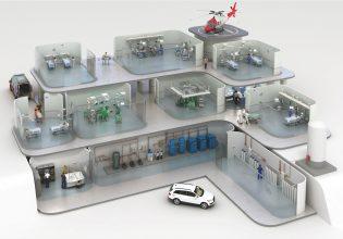 Boge compressoren in ziekenhuis