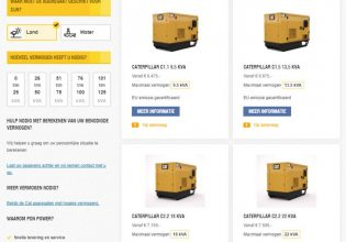 webshop voor kleinere generaetorsets