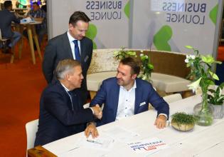overeenkomst Easyfairs en Machevo
