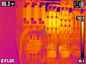 warmtebeeldcamera op multimeter Flir