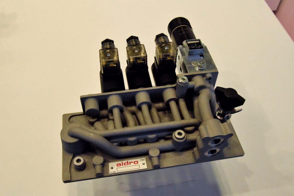 Aidro 3D manifold high pressure