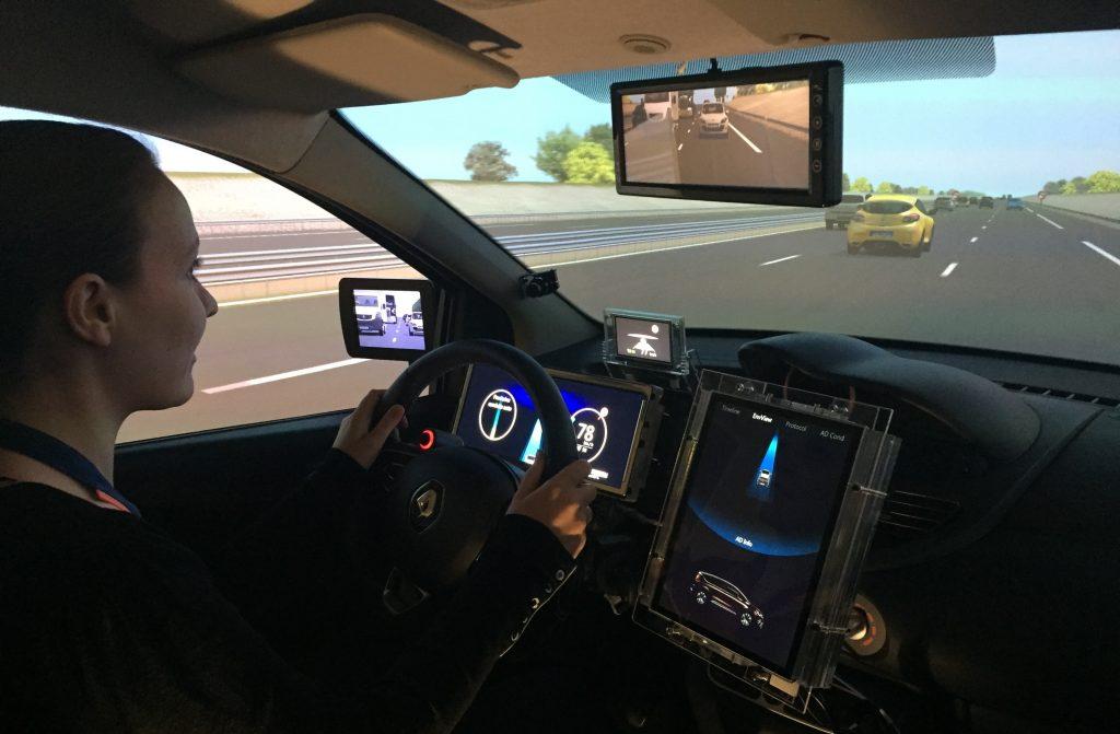 Autonoom simulatie Renault Bosch Rexroth