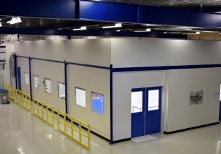 SMC Eindhoven cleanroom assemblage