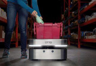 Otto 100 zelfrijdende voertuigen