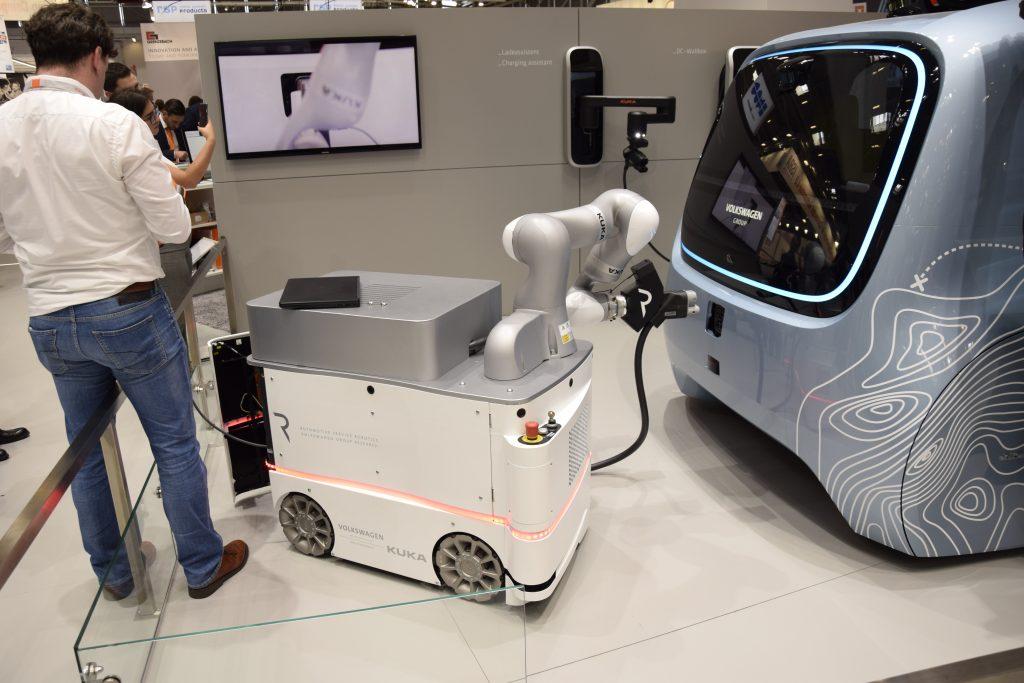 Kuka Carla e-mobility Automatica 2018