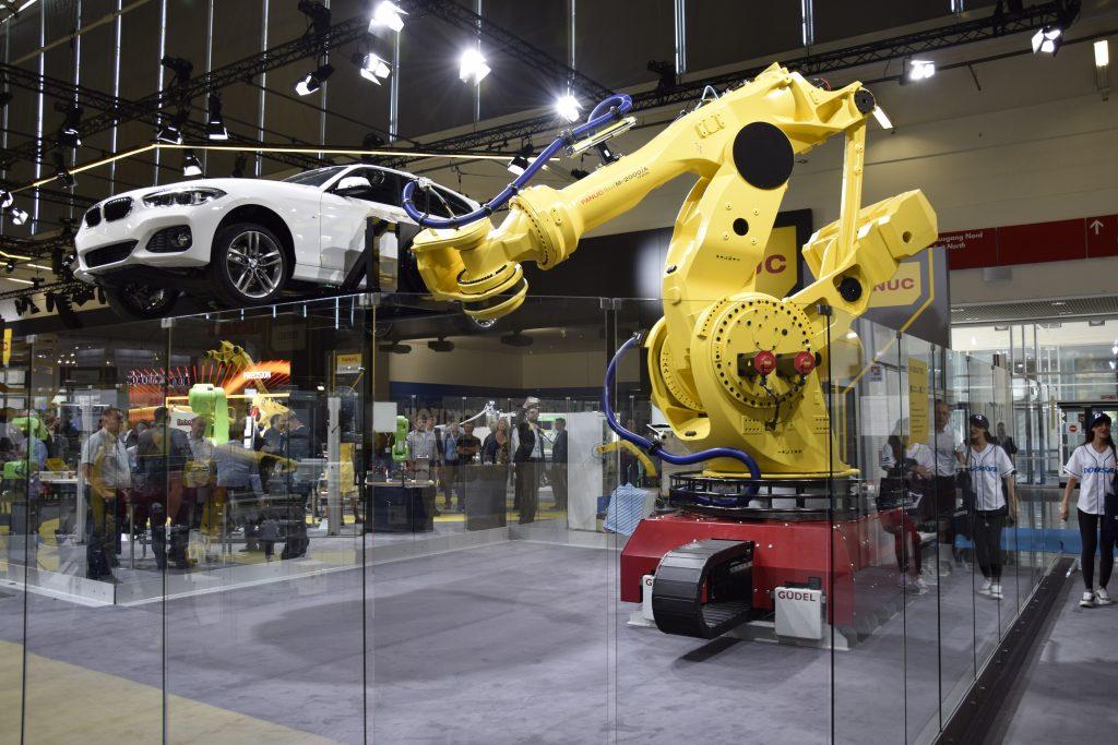Fanuc BMW Automatica 2018