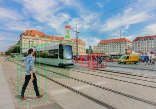 Continental veiligheid op trambaan