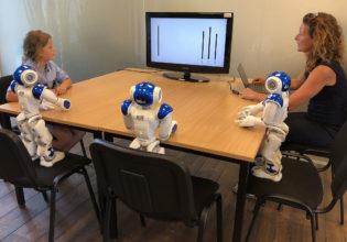 robots beïnvloeden kinderen