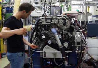 testen schone verbrandingsmotor